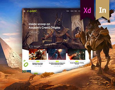 O-Gamer Website