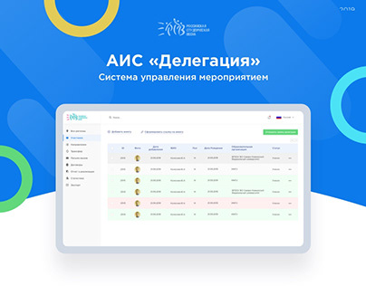 "AIS ""Delegation"" Event management system"