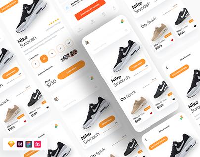 Free Nike App Figma