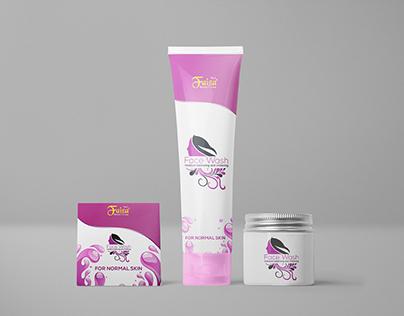 Faiza Beauty Cream Branding