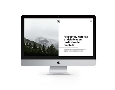 Diseño web Taste the Altitude