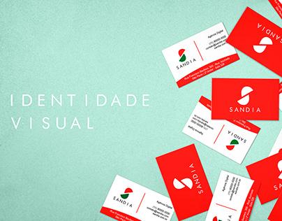 Identidade Visual - Agência SANDIA