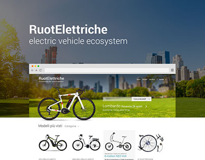 RuotElettriche electric vehicle reference website