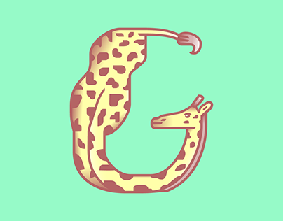 Fabel, the animal alphabet - a font full of fauna