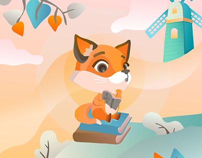 Illustration Design I: Curious Clare
