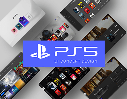 Playstation 5 UI Concept