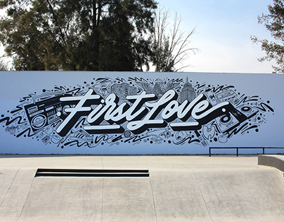 First Love Mural
