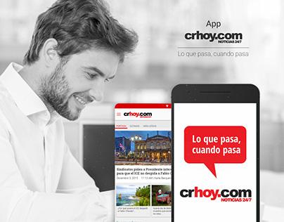 App - Crhoy.com