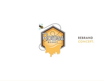Rowse Honey Rebrand Concept.