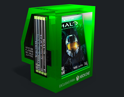 Halo Master Chief Collection Release / Retail Displays