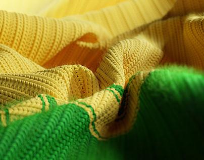 Knitwear Brazil (Cinema 4d - octane render )