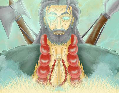 Caveman God
