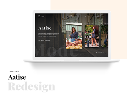 Aatise Rework - Webdesign project