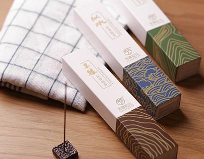 芳華紀元沉香-線香產品 包裝設計