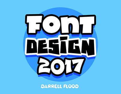 Font Design - 2017