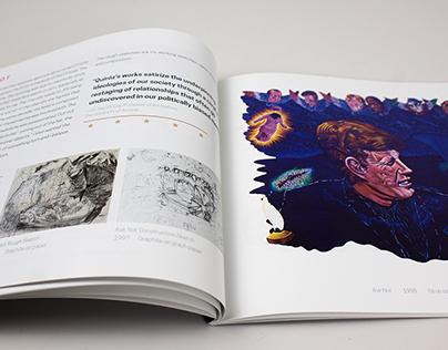 Artist Catalogue Design & Exhibition Materials
