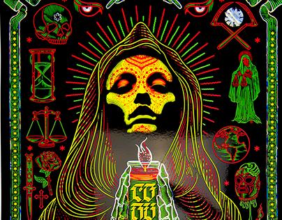 Converge Gig Poster: Mexico City