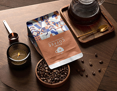 Roast – Coffee Branding Mockup