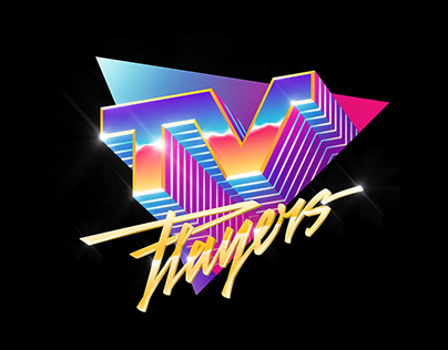 Synthwave Logos and Art