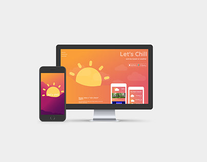 Let's Chill App and Website
