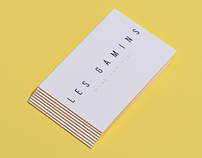 LES GAMINS - MADE FOR PLAY