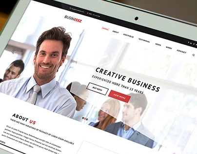 Businessz - Business PSD Template