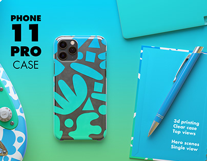 iPhone 11 pro cases Mock-Up