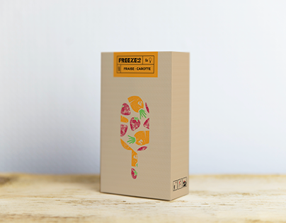 Freeze'o Branding and Packaging
