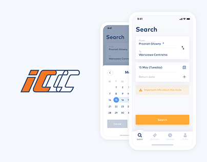 Intercity - train tickets app