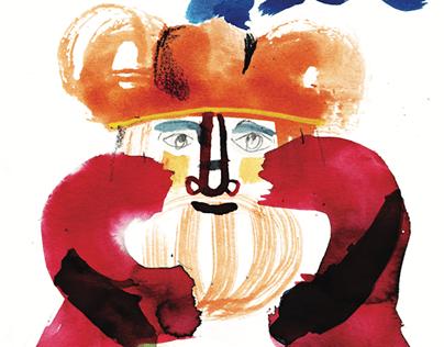 Orlando Innamorato / Illustrated wine labels