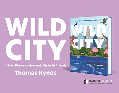 Wild City Book Illustrations