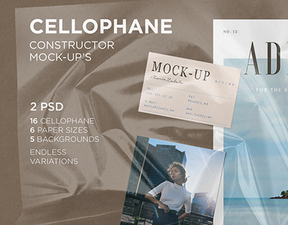 Cellophane constructor Mock-Up's