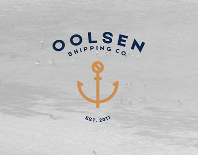 Oolsen Shipping Co. Branding