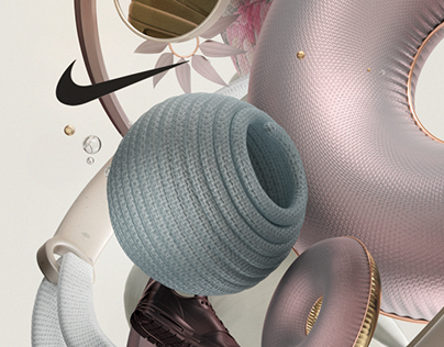 Material Collage - Nike