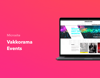 Vakkorama Events
