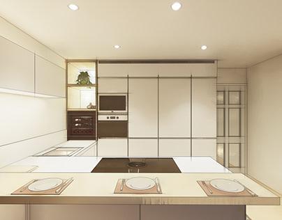 Kitchen design in Jerez