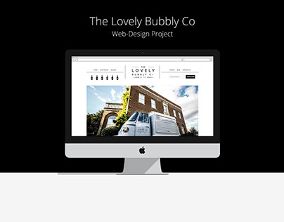 Lovely Bubbly Co - Web-design Project