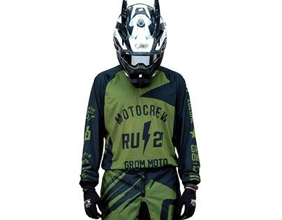 Grom Army MX gear set