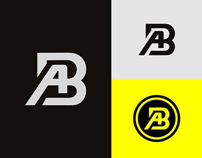 AB Logo or BA Logo