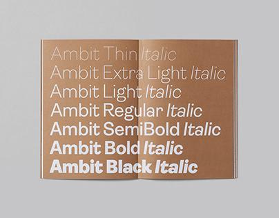 Ambit Font