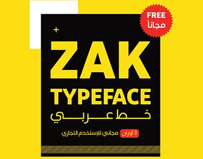 "ZAK Font ""Arabic"" | خط زاك- مجانا"