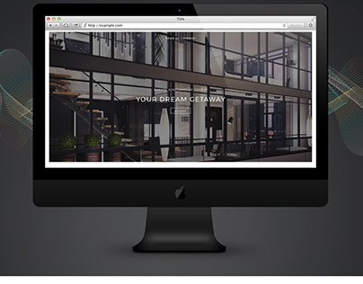 LANDING PAGE: for luxury apartment in London