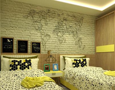boy bedroom - Interior Design