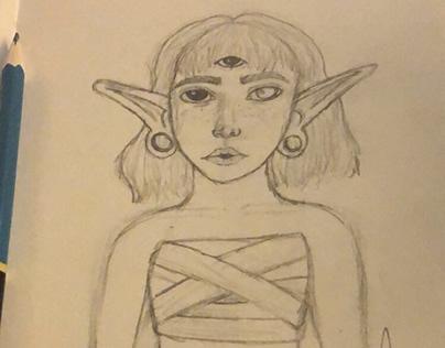 Three eyed elf