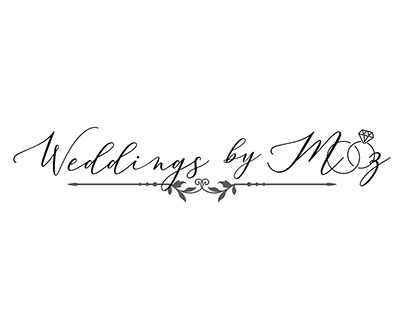 Weddings By Mooz Branding Concept