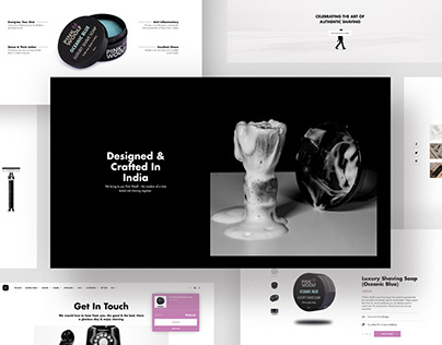 Pink Woolf - Website Design