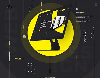 G L S O X / TECH INDUSTRY / Web design