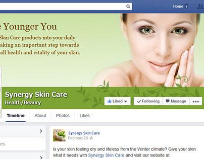 Synergy Skin Care - Social Media graphics