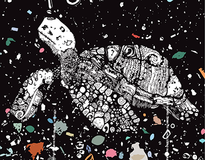 Endangered Sea Turtle Poster