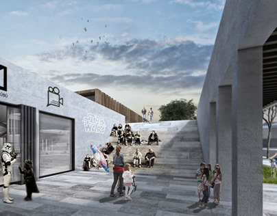 Selcuk Youth Center Design Competition Project